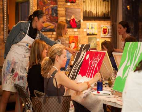 The 10 Best Spots for Paint & Wine in Illinois!
