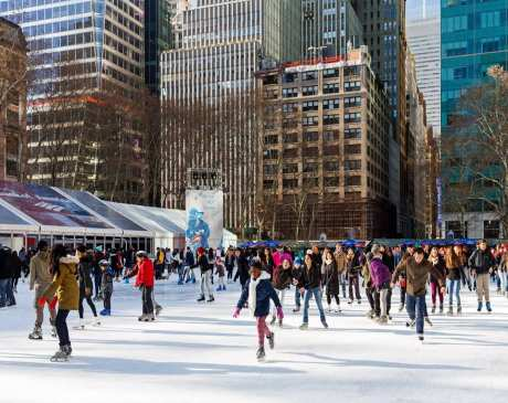 The 10 Best Ice Skating Rinks in New York!