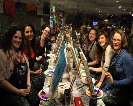 The 10 Best Spots for Paint & Wine in Vermont!