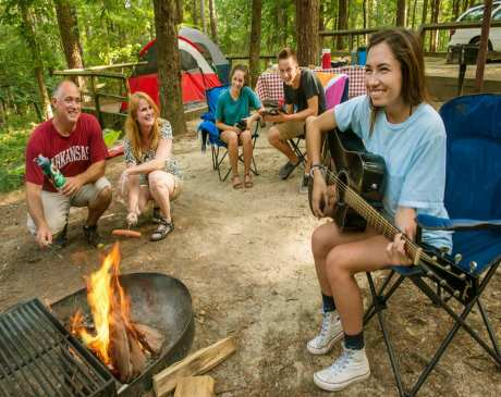 The 15 Best Camping Spots in Arkansas!
