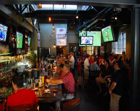 The 9 Best Sports Bars in Arkansas!