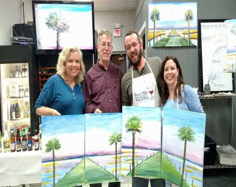 The 10 Best Spots for Paint & Wine in South Carolina!