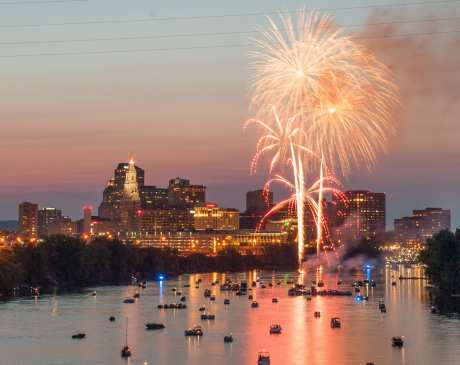The Perfect Fourth of July in Connecticut!